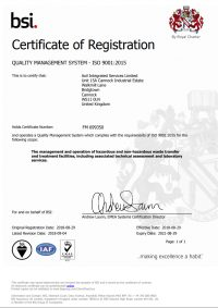 ISO 9001:2015 Axil Integrated Services